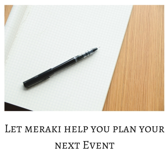 Let me help you plan your next Event